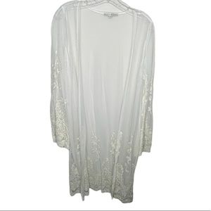 Haute Monde Sheer Lace Cover-Up